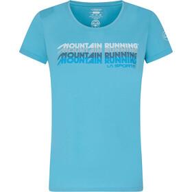La Sportiva Mountain Running T-Shirt Women, blauw